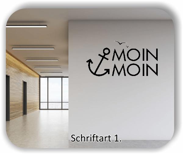 Wandtattoos - Moin Moin