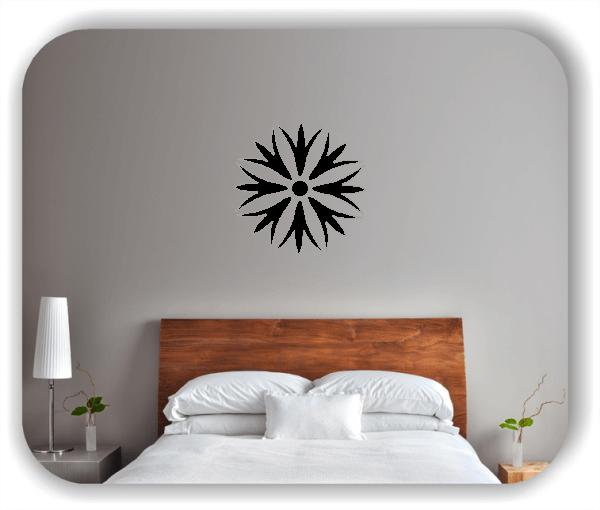 Wandtattoos Dingbats Floral - ab 50x50 cm - Motiv 4106