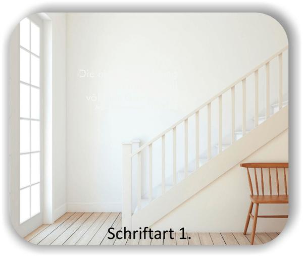 Wandtattoos - Sprüche & Zitate - Die eigene Erfahrung hat...