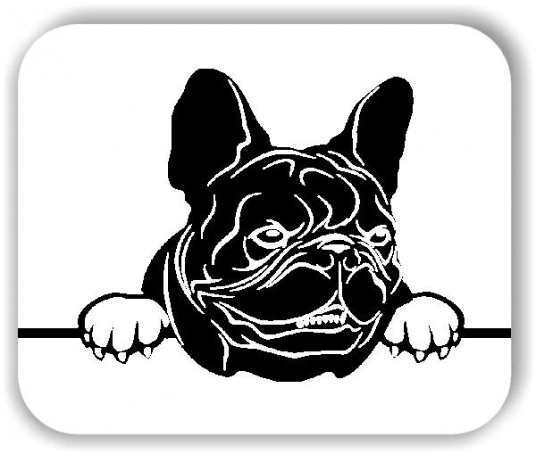 Wandtattoos Tiere - Hunde - Französische Bulldogge Variante 3 - ohne Rassename