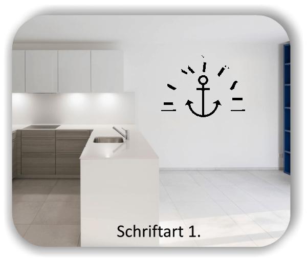 Wandtattoos Küche – Spruch Kombüse