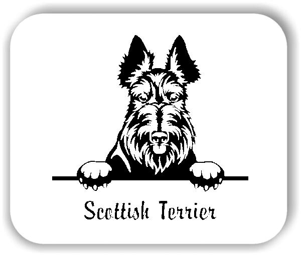 Wandtattoos Tiere - Hunde - Scottish Terrier