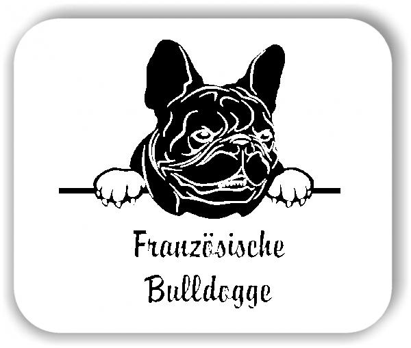 Wandtattoos Tiere - Hunde - Französische Bulldogge Variante 1