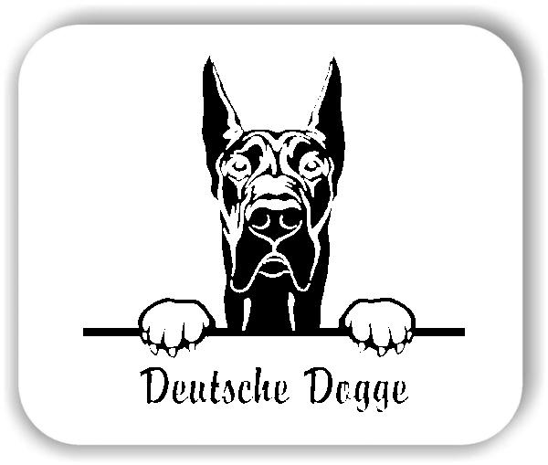 Wandtattoos Tiere - Hunde - Deutsche Dogge