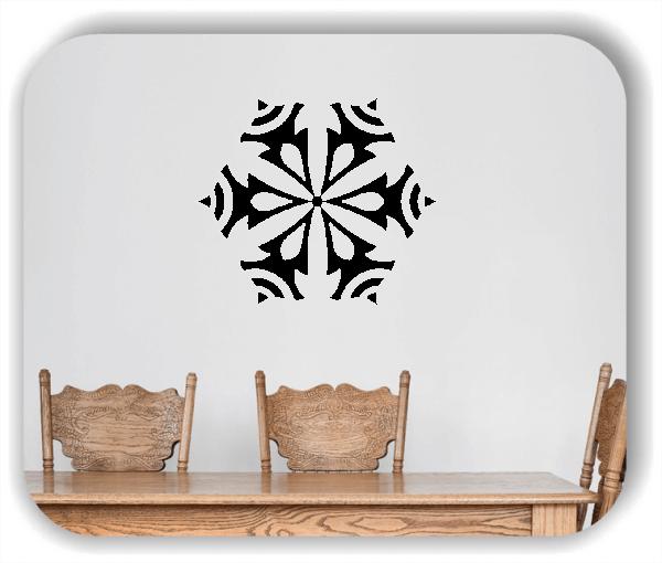 Snowflakes Wandtattoos - Schneeflocke - ab 50x43 cm - Motiv 2573