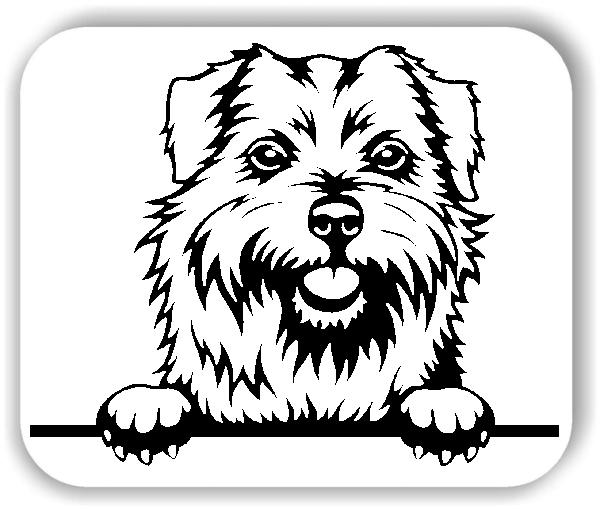 Wandtattoos Tiere - Hunde - Norfolk Terrier - ohne Rassename