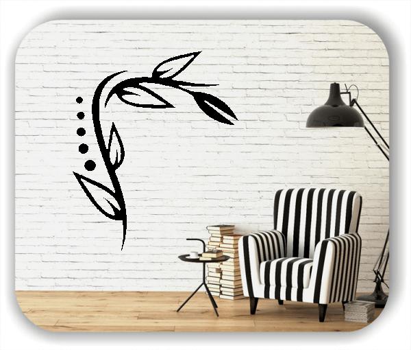 Wandtattoos Blätter & Blumen - Motiv 39