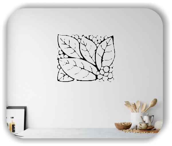 Wandtattoos Ornamente Natur - ab 60 x 49 cm - Motiv 36