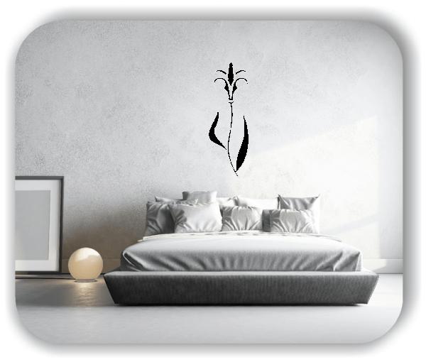 Schnittblumen Wandtattoos - ab 18x50 cm - Motiv 9001