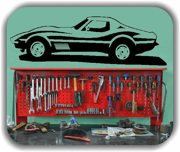 Hobby / Motiv Wandtattoos - ab 60x19 cm - Rennwagen