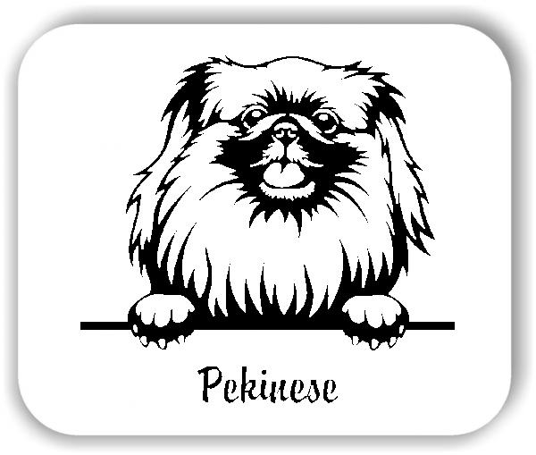 Wandtattoos Tiere - Hunde - Pekinese