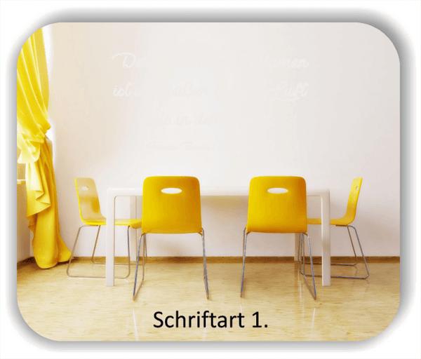 Wandtattoos - Sprüche & Zitate - Der Duft der Blumen ist...