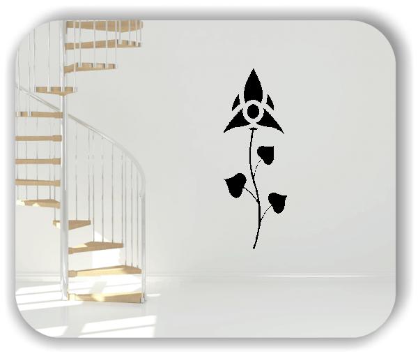 Schnittblumen Wandtattoos - ab 18x50 cm - Motiv 9004