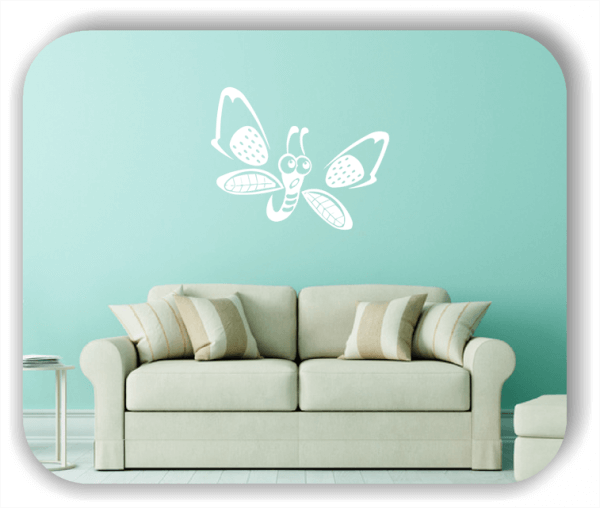 Wandtattoos Tiere - Süßer Schmetterling
