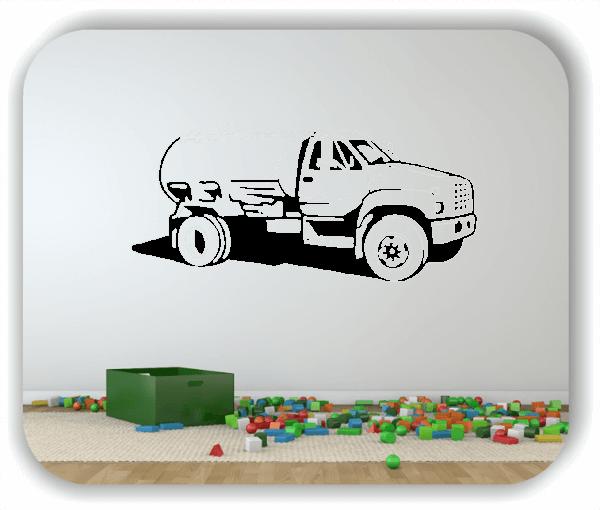 Hobby / Motiv Wandtattoos - ab 50x23 cm - Tanker