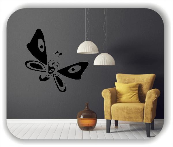 Wandtattoos Tiere - Niedlicher Schmetterling