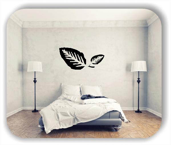 Wandtattoos Blätter - ab 50x25cm - Motiv 8210