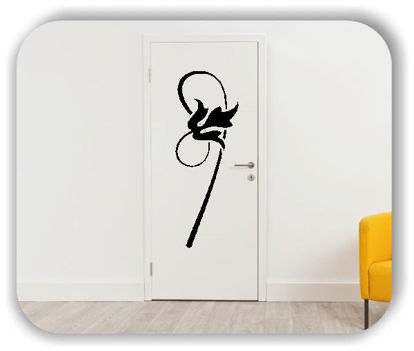 Schnittblumen Wandtattoos - ab 18x50 cm - Motiv 9011