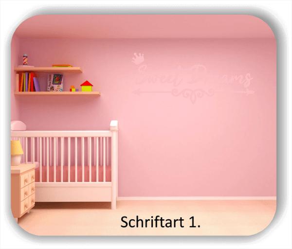 Wandtattoos Spruch - Sweet Dreams