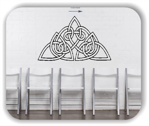 Wandtattoos Keltischer Knoten - Geltic Design - Motiv 37