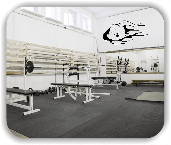 Hobby / Motiv Wandtattoos - ab 50x23 cm - Tiger Tribal