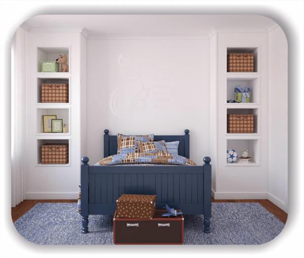 Wandtattoos Schlafzimmer - Teufelchen mit Strichliste
