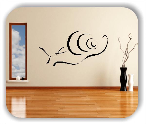Wandtattoos Tiere - ab 50x25 cm - Schnecke