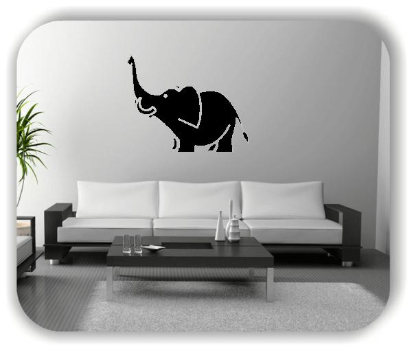 Wandtattoos Tiere - Elefant