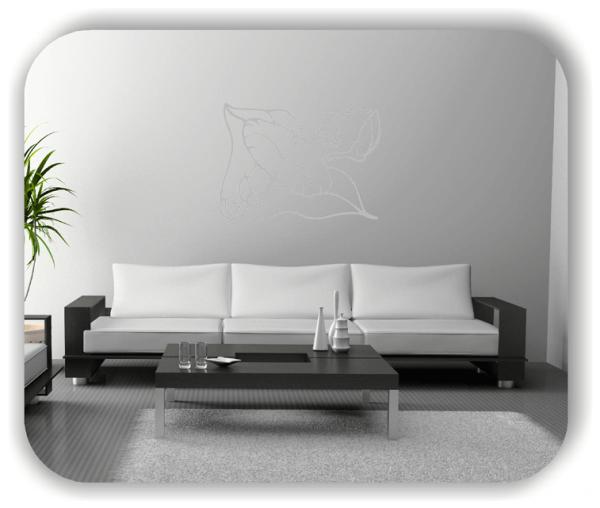Wandtattoos Ornamente Natur - ab 60 x 43 cm - Motiv 32