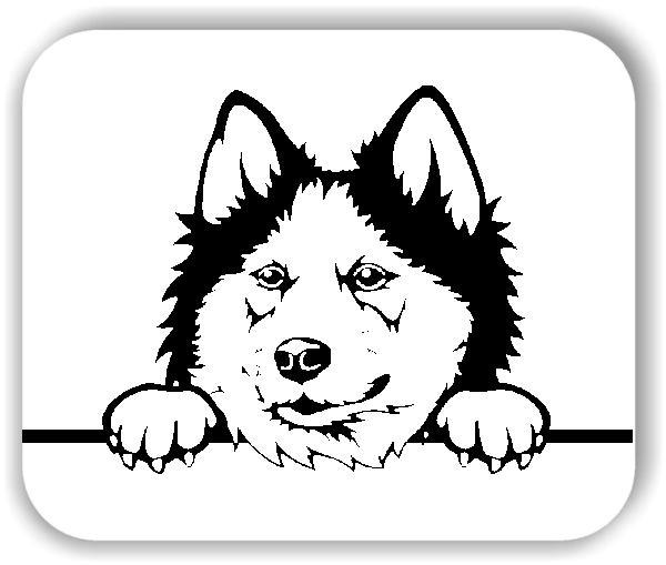 Wandtattoos Tiere - Hunde - Siberian Husky - ohne Rassename