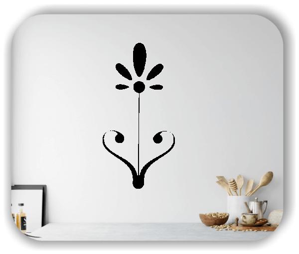 Schnittblumen Wandtattoos - ab 25x50 cm - Motiv 9021