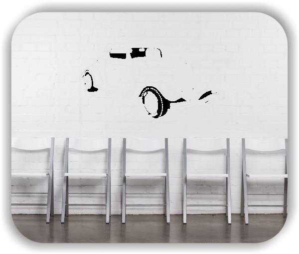 Wandtattoos Fahrzeuge - ab 50x34 cm - Oldtimer