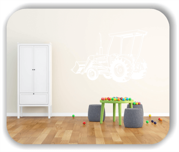 Wandtattoos Fahrzeuge - ab 50x34 cm - Trecker