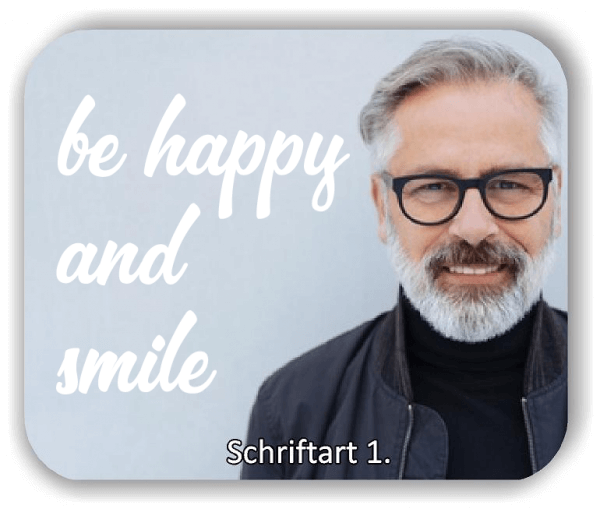 Wandtattoos - Sprüche & Zitate - Be happy and smile