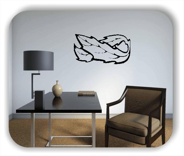 Wandtattoos Ornamente Natur - ab 50 x 25 cm - Motiv 89