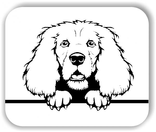 Wandtattoos Tiere - Hunde - Cocker Spaniel - ohne Rassename