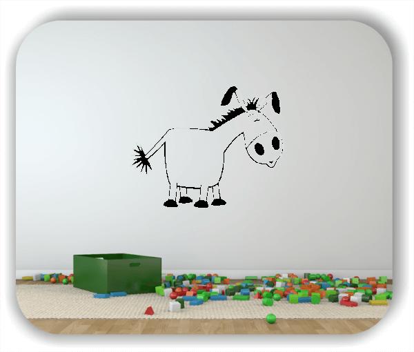 Wandtattoos Tiere - Esel