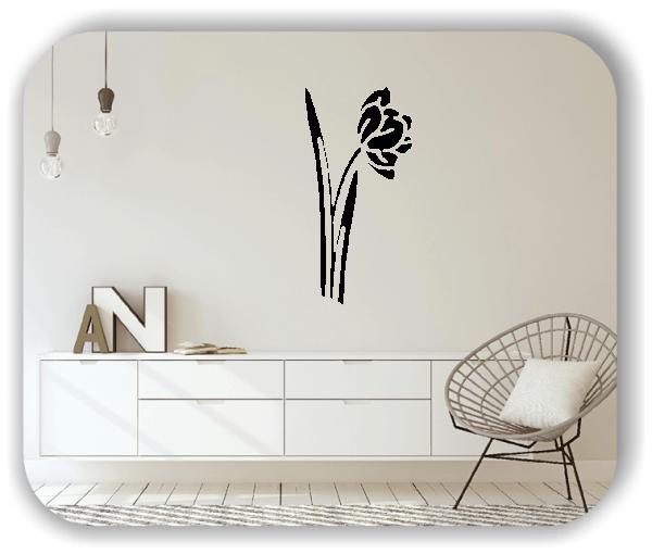 Schnittblumen Wandtattoos - ab 25x50 cm - Motiv 9020