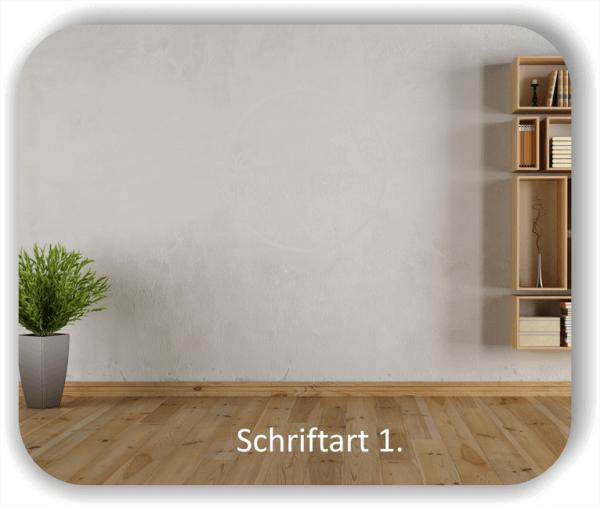 Wandtattoos - Sprüche & Zitate – Nimm dir Zeit glücklich zu sein...
