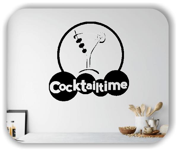 Wandtattoos Spruch Küche - Cocktailtime