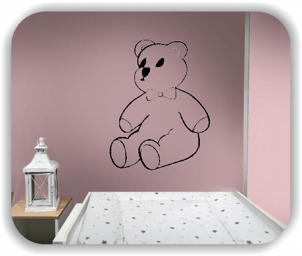 Wandtattoos Tiere - Teddybär