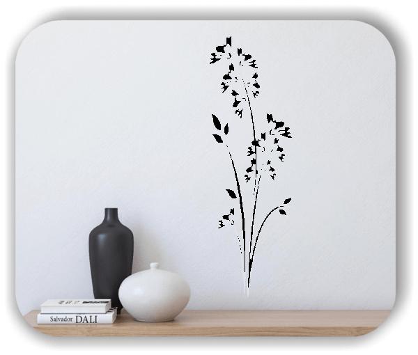 Florale Wandtattoos Japan Motiv - ab 20x60 cm - Motiv 3277
