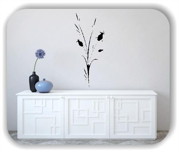 Florale Wandtattoos Japan Motiv - ab 25x60 cm - Motiv 3258