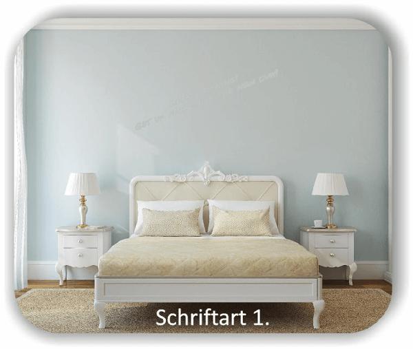 Wandtattoos – Spruch Good morning