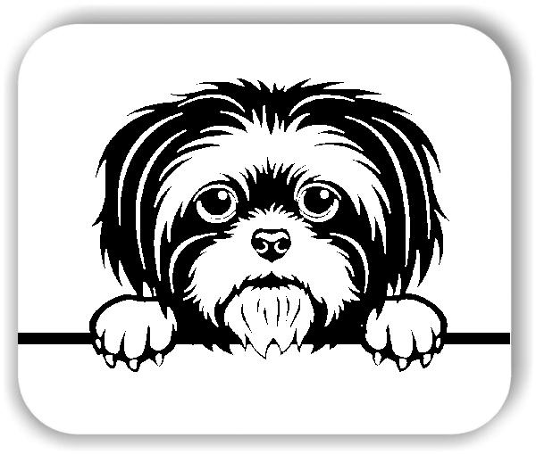 Wandtattoos Tiere - Hunde - Shih Tzu - ohne Rassename