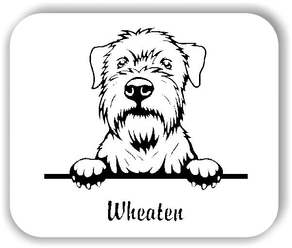 Wandtattoos Tiere - Hunde - Wheaten