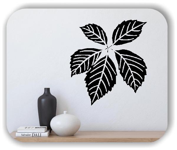 Wandtattoos Blätter - ab 50x55cm - Motiv 8257