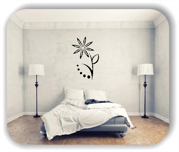 Wandtattoos Blätter & Blumen - Motiv 68