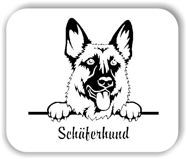 Wandtattoos Tiere - Hunde - Schäferhund