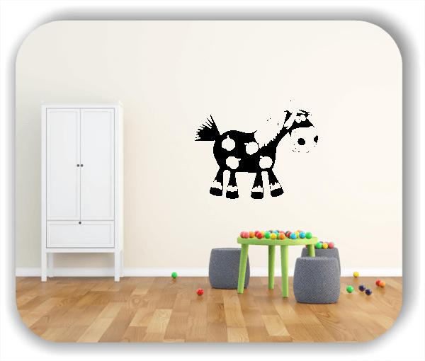 Wandtattoos Tiere - Süßes Pony